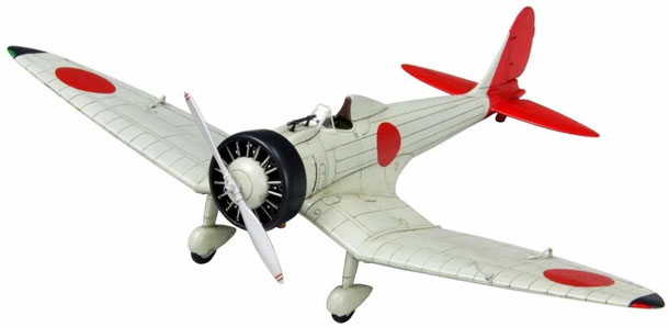 An experimental single-seat fighter plastic model plane