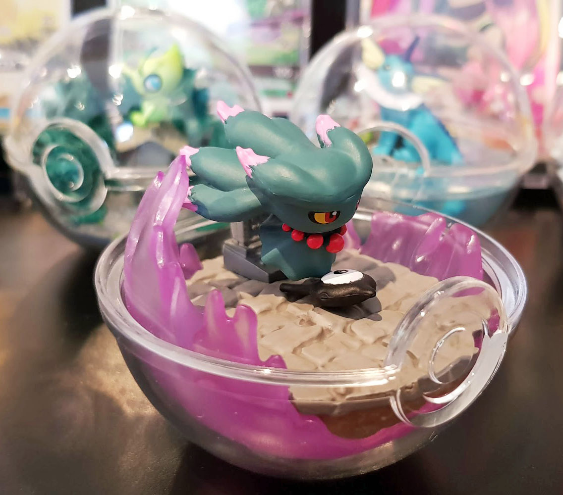 Capture A Pokemon Frozen In Time Plaza Japan